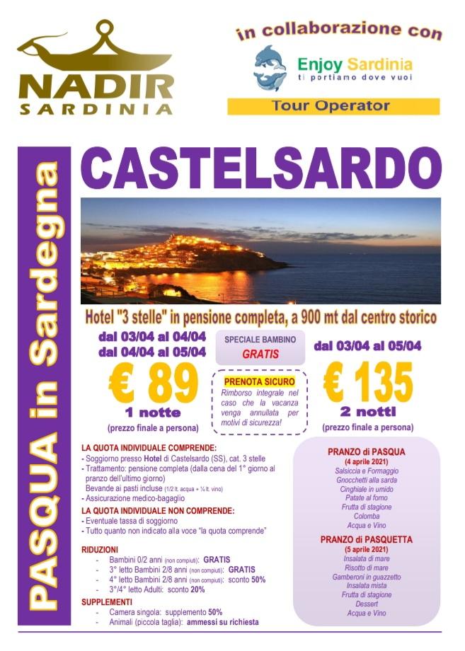 Pasqua A Castelsardo Nadir Sardinia